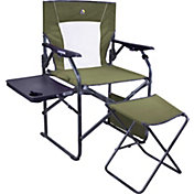 GCI Outdoor 3-Position Director's Chair with Ottoman