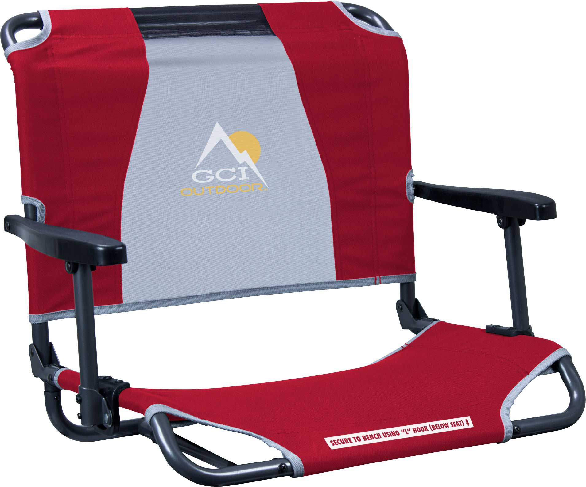 GCI Outdoor Big fort Stadium Chair with Armrests
