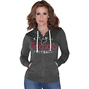 Touch by Alyssa Milano Women's Atlanta Falcons Full-Zip Black Hoodie