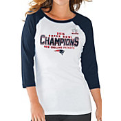 G-III for Her Women's Super Bowl LI Champions New England Patriots Raglan Shirt