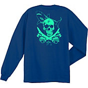 Guy Harvey Boys' Windward Long Sleeve Shirt