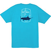 Guy Harvey Men's Barrel Logo T-Shirt