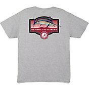 Guy Harvey Men's Alabama Crimson Tide Grey Master's T-Shirt