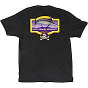 Guy Harvey Men's East Carolina Pirates Master's Black T-Shirt
