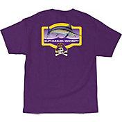 Guy Harvey Men's East Carolina Pirates Purple Master's T-Shirt