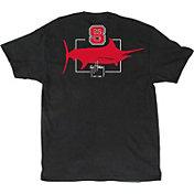 Guy Harvey Men's NC State Wolfpack Black Logo T-Shirt