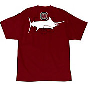 Guy Harvey Men's South Carolina Gamecocks Garnet Logo T-Shirt