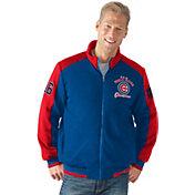 G-III Men's Chicago Cubs 2016 World Series Champions Royal Full-Zip Jacket
