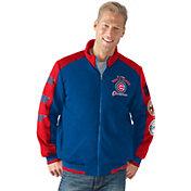 G-III Men's Chicago Cubs 3x World Series Champions Royal Full-Zip Jacket
