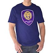 G-III Men's Orlando City Logo Purple T-Shirt