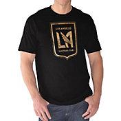 G-III Men's Los Angeles FC Logo Black T-Shirt