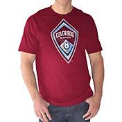 G-III Men's Colorado Rapids Logo Red T-Shirt