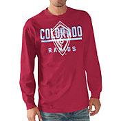 G-III Men's Colorado Rapids Logo Red Long Sleeve T-Shirt