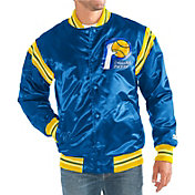 Starter Men's Indiana Pacers Button Down Enforcer Jacket