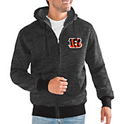 G-III Men's Cincinnati Bengals Discovery Black Full-Zip Jacket