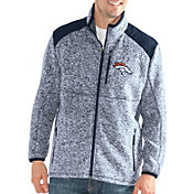 G-III Men's Denver Broncos Backcountry Navy Full-Zip Jacket