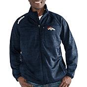 G-III Men's Denver Broncos Mindset Navy Full-Zip Jacket