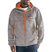 G-III Men's Denver Broncos Expedition Soft Shell Grey Full-Zip Jacket