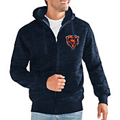 G-III Men's Chicago Bears Discovery Navy Full-Zip Jacket