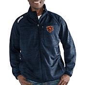 G-III Men's Chicago Bears Mindset Navy Full-Zip Jacket
