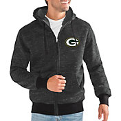 G-III Men's Green Bay Packers Discovery Black Full-Zip Jacket