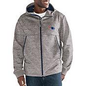 G-III Men's New England Patriots Expedition Soft Shell Grey Full-Zip Jacket