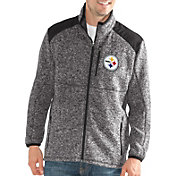 G-III Men's Pittsburgh Steelers Backcountry Black Full-Zip Jacket