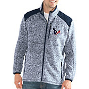 G-III Men's Houston Texans Backcountry Navy Full-Zip Jacket