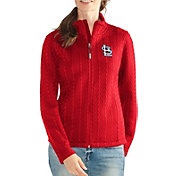 G-III Women's St. Louis Cardinals Full-Zip Fleece