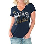 G-III For Her Women's Philadelphia Union Homefield Navy Slub T-Shirt