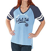 G-III For Her Women's New York City FC Fastball Light Blue T-Shirt