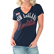 G-III For Her Women's New England Revolution Homefield Navy Slub T-Shirt