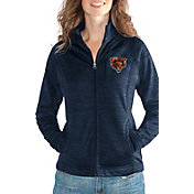 G-III for Her Women's Chicago Bears Hand Off Navy Full-Zip Jacket