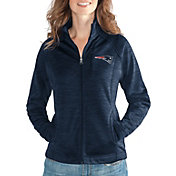 G-III for Her Women's New England Patriots Hand Off Navy Full-Zip Jacket