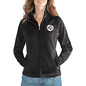 G-III for Her Women's Pittsburgh Steelers Hand Off Black Full-Zip Jacket