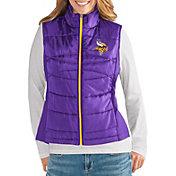G-III for Her Women's Minnesota Vikings Wingback Purple Full-Zip Vest