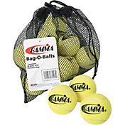 GAMMA Bag-O-Balls Pressureless Tennis Balls - 18 Ball Pack