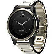 Garmin fenix 5s Sapphire Smartwatch with Metal Band