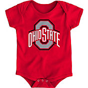 Gen2 Infant Ohio State Buckeyes Scarlet Logo Onesie