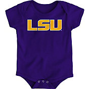 Gen2 Infant LSU Tigers Purple Logo Onesie