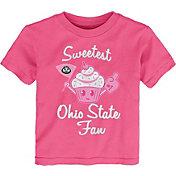 Gen2 Toddler Girls' Ohio State Buckeyes Pink 'Sweetest Fan' T-Shirt
