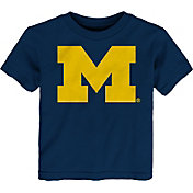 Gen2 Toddler Michigan Wolverines Blue Logo T-Shirt