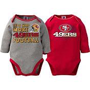 Gerber Infant San Francisco 49ers 2-Piece Long Sleeve Onesie Set
