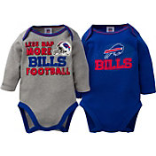 Gerber Infant Buffalo Bills 2-Piece Long Sleeve Onesie Set