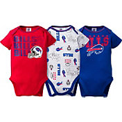 Gerber Infant Buffalo Bills 3-Piece Onesie Set