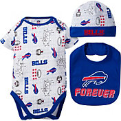 Gerber Infant Buffalo Bills Cap/Bib Onesie Set