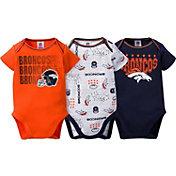 Gerber Infant Denver Broncos 3-Piece Onesie Set