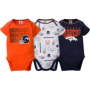 Gerber Infant Denver Broncos 3-Piece Onesie Set