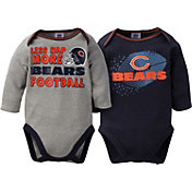 Gerber Infant Chicago Bears 2-Piece Long Sleeve Onesie Set