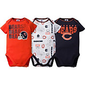 Gerber Infant Chicago Bears 3-Piece Onesie Set